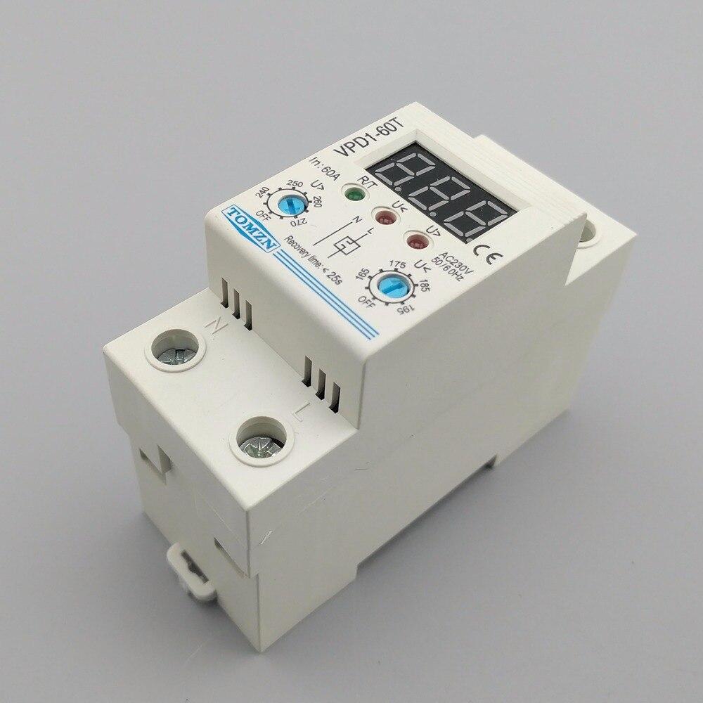 60a 220v reconecte automatico ajustavel sobre 04