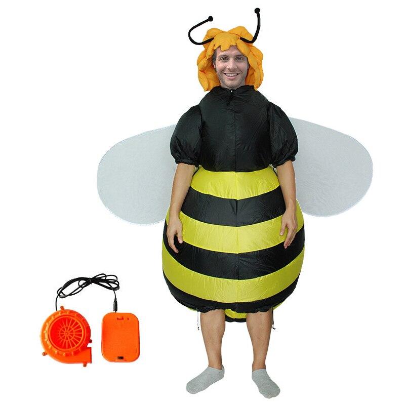 Costumes de Carnaval coloré papillon abeille Halloween adultes fantaisie drôle Costume gonflable coloré ailes de chauve-souris Costumes Cosplay