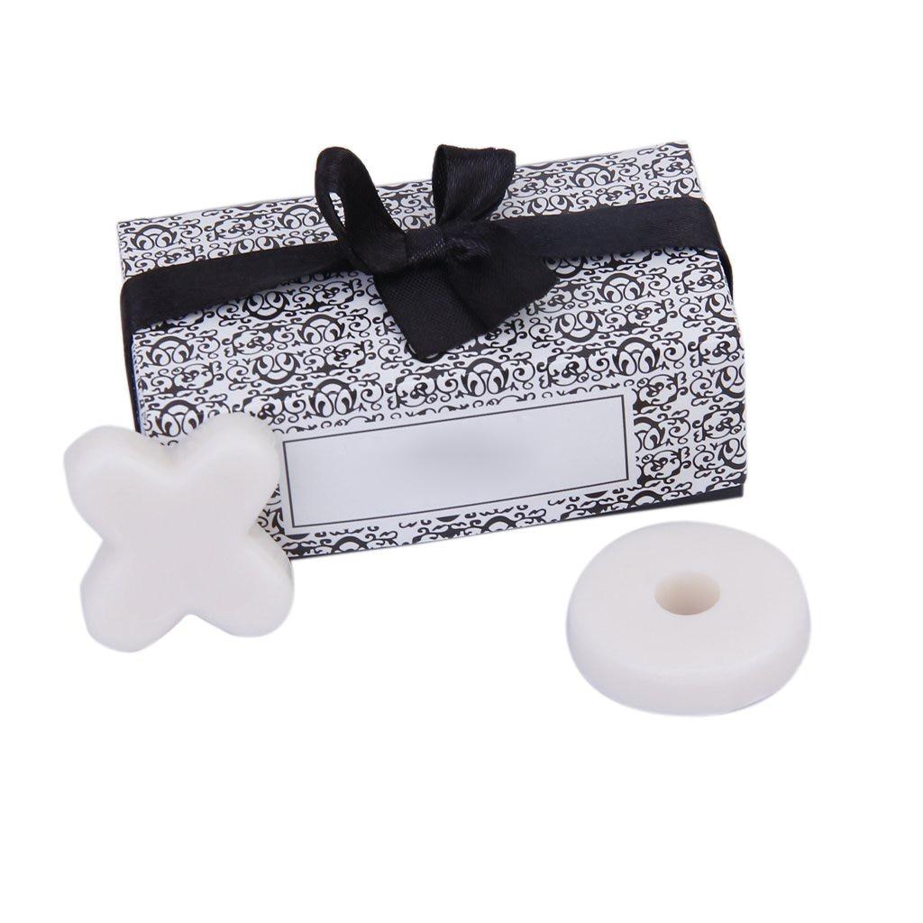 2 Set/lote Moderno lindo Jabon perfumado XO para la boda partido del bebe favorece ducha segunda mano  Se entrega en toda España