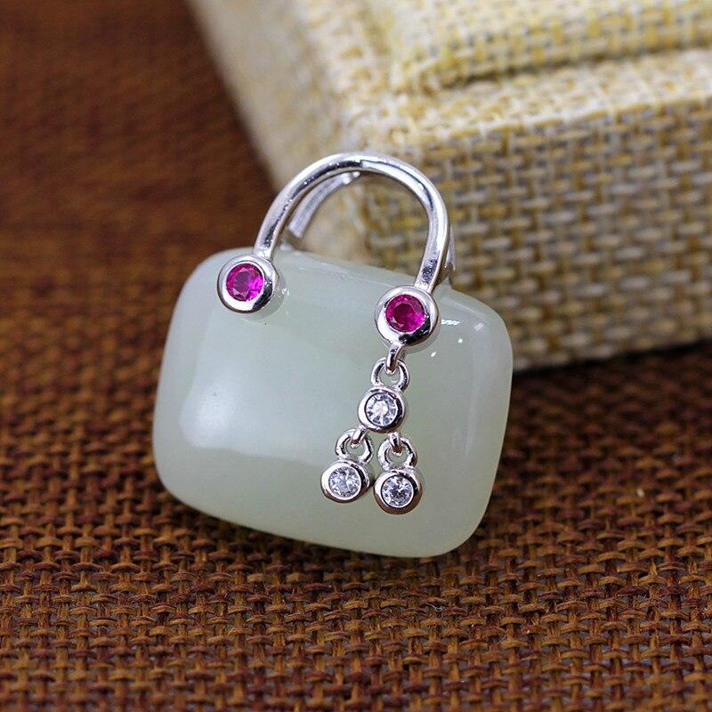 Здесь можно купить  925 sterling silver jewelry stone pendant  Ювелирные изделия и часы