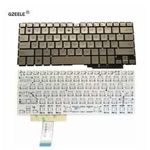 Новая серебряная клавиатура для Asus UX31 UX31A UX31LA UX31E США без подсветки