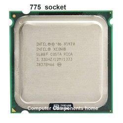 إنتل زيون X5470 LGA775 معالج وحدة المعالجة المركزية (3.33 GHz/LGA771/12 MB L2 الكاش/رباعية النواة/FSB 1333) scoket 771 إلى 775 وحدة المعالجة المركزية الضمان 1 yera