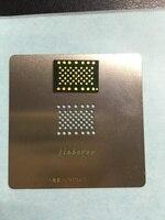 1set/lot 1pcs for iphone 6 4.7 64GB HDD memory nand flash with 1pcs BGA reballing reball stencil