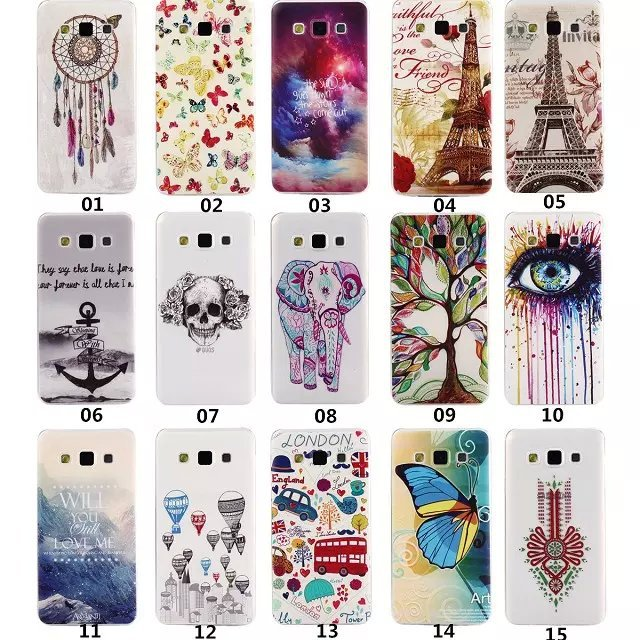 super popular 8a2ae f558c US $3.32 |Colorful Printed Soft Silicone TPU Back Cover for Samsung Galaxy  A3 A3000 Phone Protective Skin cover Case For Samsung Galaxy A3 on ...