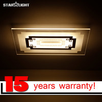 Modern Ceiling Chandelier High Quality Rectangle LED Ceiling Lamp China Style Licht Remote Control Dimmable Light
