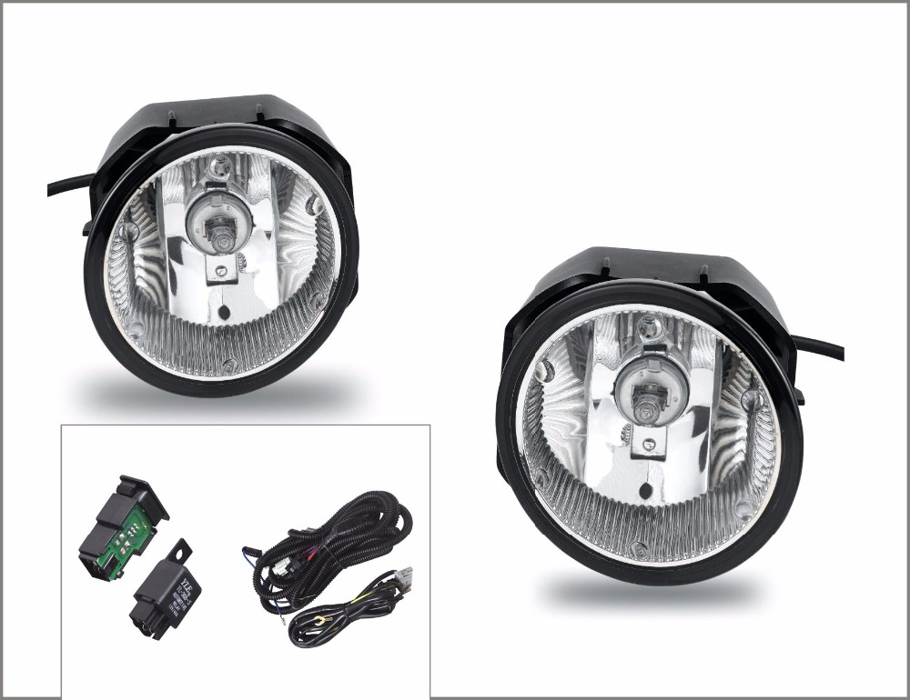 Case for Nissan Xterra 2002 2003 2004 fog light halogen fog lamp H3 12V 55W with