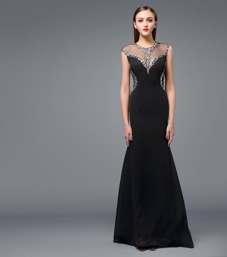 vestido de festa longo com renda vestidos de novia robe de TK1898 2019 Real picture new Party gowns Long   Evening     dress