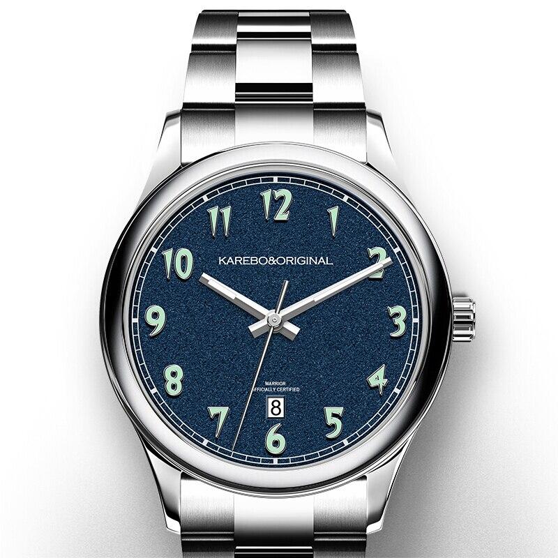 KAREBO Mens Automatic Self-Wind Mechanical Fashion Business Wristwatch WatchKAREBO Mens Automatic Self-Wind Mechanical Fashion Business Wristwatch Watch