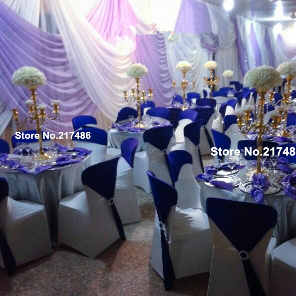 Gold Flower Vase For Feather Centerpiece For Wedding Stage