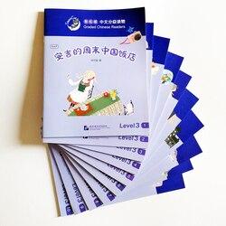 10 livres/set Smart Cat classé lecteurs chinois niveau 3 (600 mots) livres de lecture chinois pour les étudiants de 10-18 ans