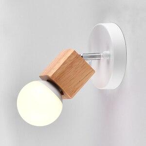 Lámpara de habitación de techo de madera A1, pasillo de entrada, personalidad, estudio, dormitorio, lámpara de noche moderna minimalista escandinava MZ122