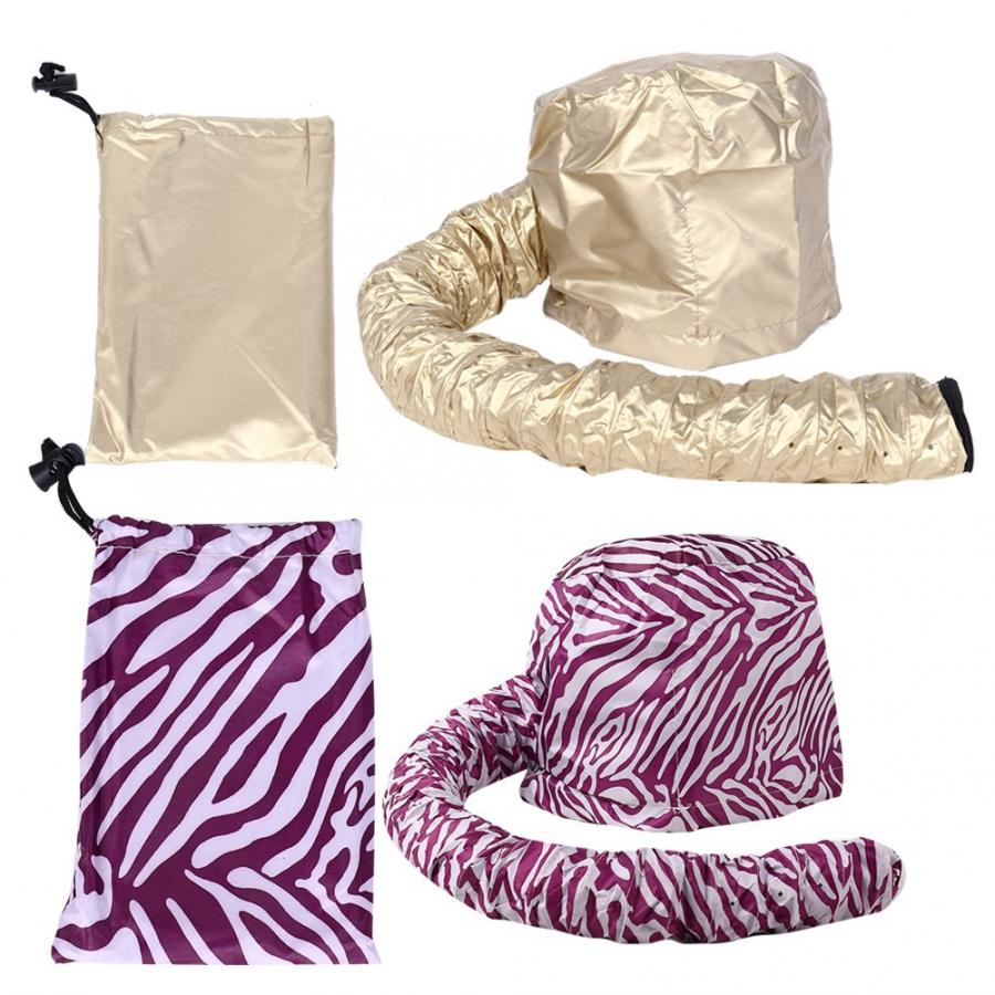 2 Types Portable Hair Drying Cap Blow Dryer Bonnet Hood Hat Hair Drying Attachment Barbershop Hair Dryer Accessories