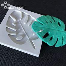 1pcs UV Resin Jewelry Liquid Silicone Mold 3D Large Banana Leaves Resin Charms Pendant Mold For DIY Decorate Making  Jewelry