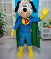 Funny and quality handmade adult super dog mascot costume