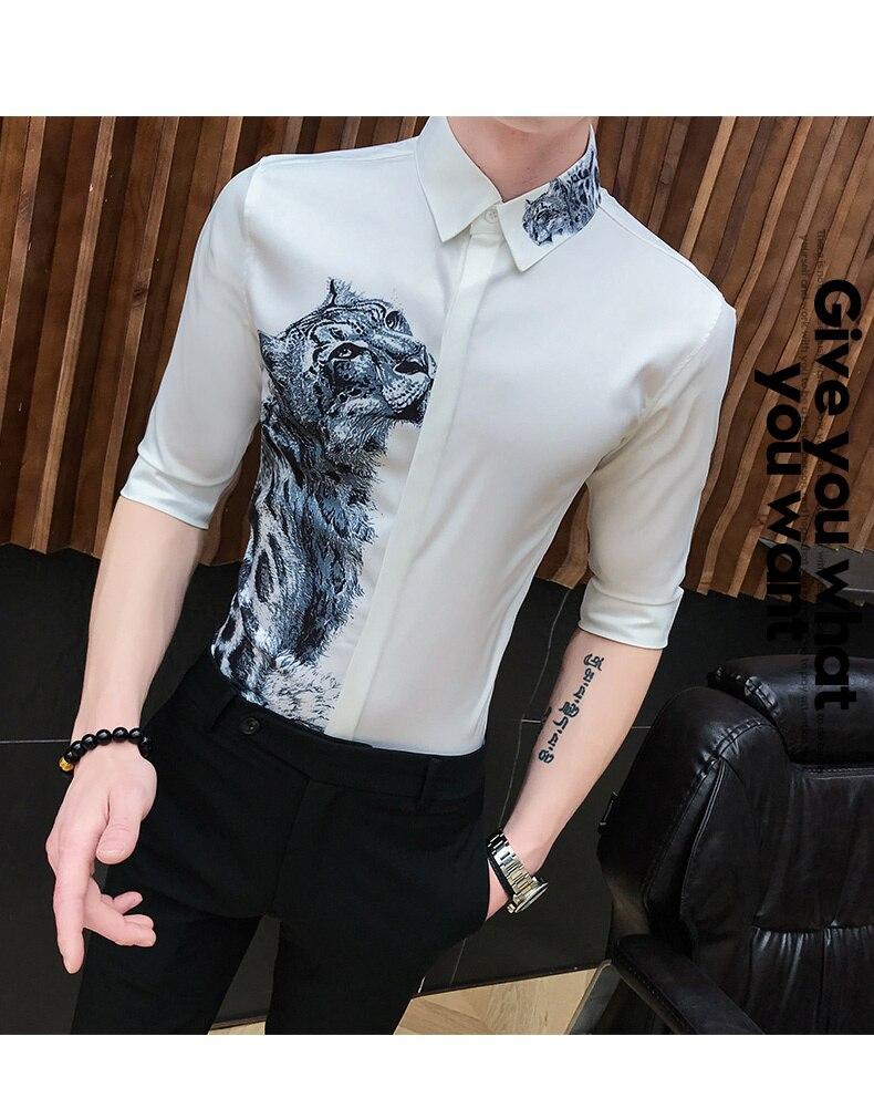 Men's Streetwear Camisa States 9