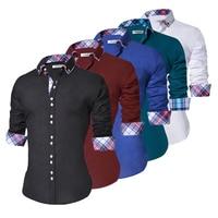 Men's Casual Slim Fit Dress Shirt 1