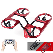 New flying drone TY-6 RC Selfie Mini Drone with Camera Triple Folding WiFi FPV Quadcopter Altitude Hold Floating Flying Toys