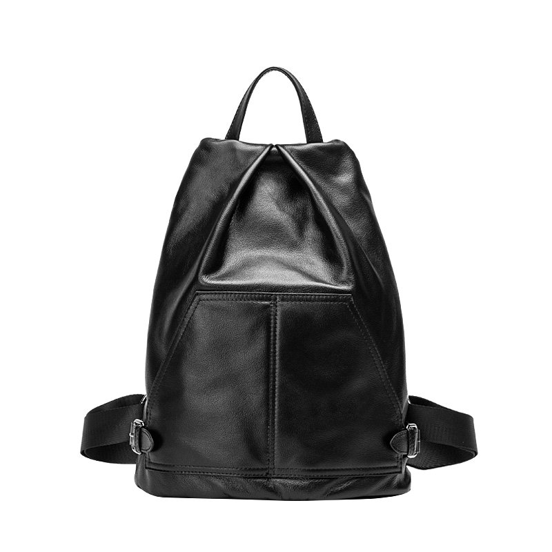 2017 New Genuine Leather Women Backpack College Style Cowhide Bag Travel Bag Real Leather Backpack Female Designer new 2016 women backpack genuine leather fashion bag backpack women leisure college wind cowhide backpack girl school