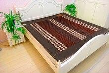 Good! Natural Tourmaline Mat Jade Beauty Mattress Jade Physical Therapy Pad Infrared Heating Mat Made in China Free Shipping