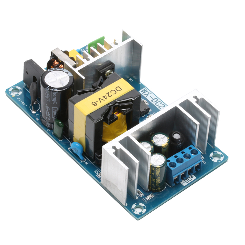 AC 100-240V to DC 24V 6A 150W Power Supply AC-DC Power Module Board Switch 24v switching power supply board 4a 6a power supply module bare board