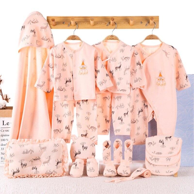 Ensembles bébé vêtements bébé 100% coton vêtements nouveau-né 19 pièces ensemble bébé vêtements pour bébé vetement bebe garcon bebe sans boite
