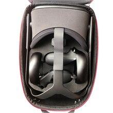 Hard EVA Travel Bag ปกป้องจัดเก็บกล่องใส่กระเป๋าสำหรับ Oculus Quest ระบบเสมือนจริงและอุปกรณ์เสริม