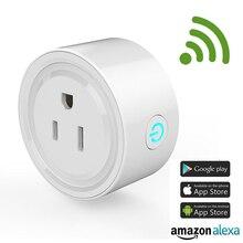 ФОТО wifi smart socket smart plug app control remote alexa  ios android smartphone amazon control smart socket