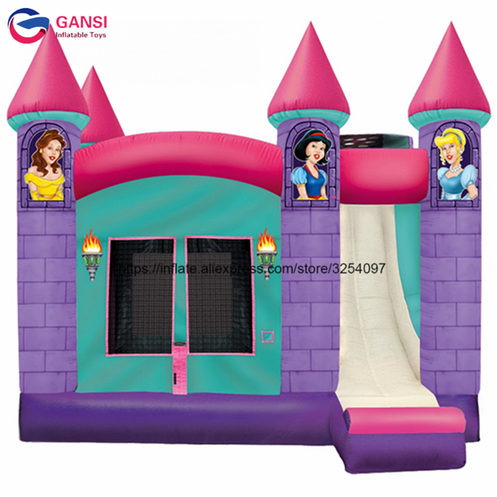 Cartoon design floating inflatable bouncy castle house for kids PVC durable waterproof inflatable jumping castle with air blower swimming kickboard a type floating flutterboard for adults kids