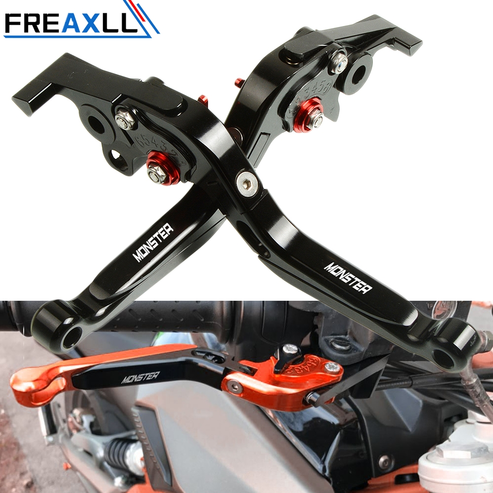 For Ducati 400 620 695 696 796 Monster M400 M600 M620 M750 M750IE M900 S2R 800 CNC Levers Motorcycle Brake Clutch