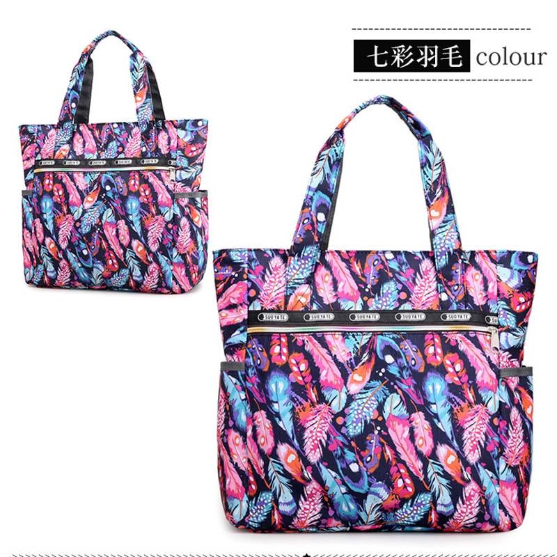 2019 New Fashion Women Handbag Bohemin Style Print Wild Shoulder Bag Commating of Commating big Women's Canvas Handbag Bolsas