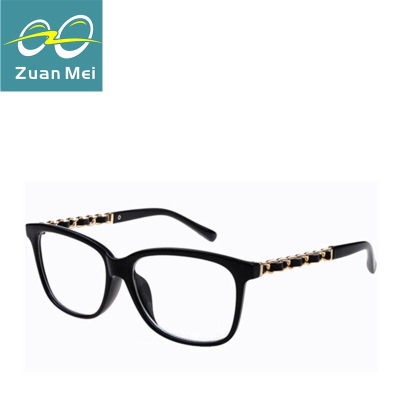 New Fashion optical reading Transparent eyeglasses frame women girls ...