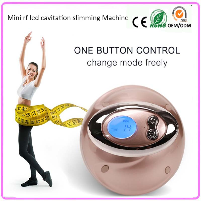 Electric Weight Loss Fat Cellulite Reduction Wrinkle Removal Skin Tightening Portable Ultrasound Rf Vibration Slimming Machine