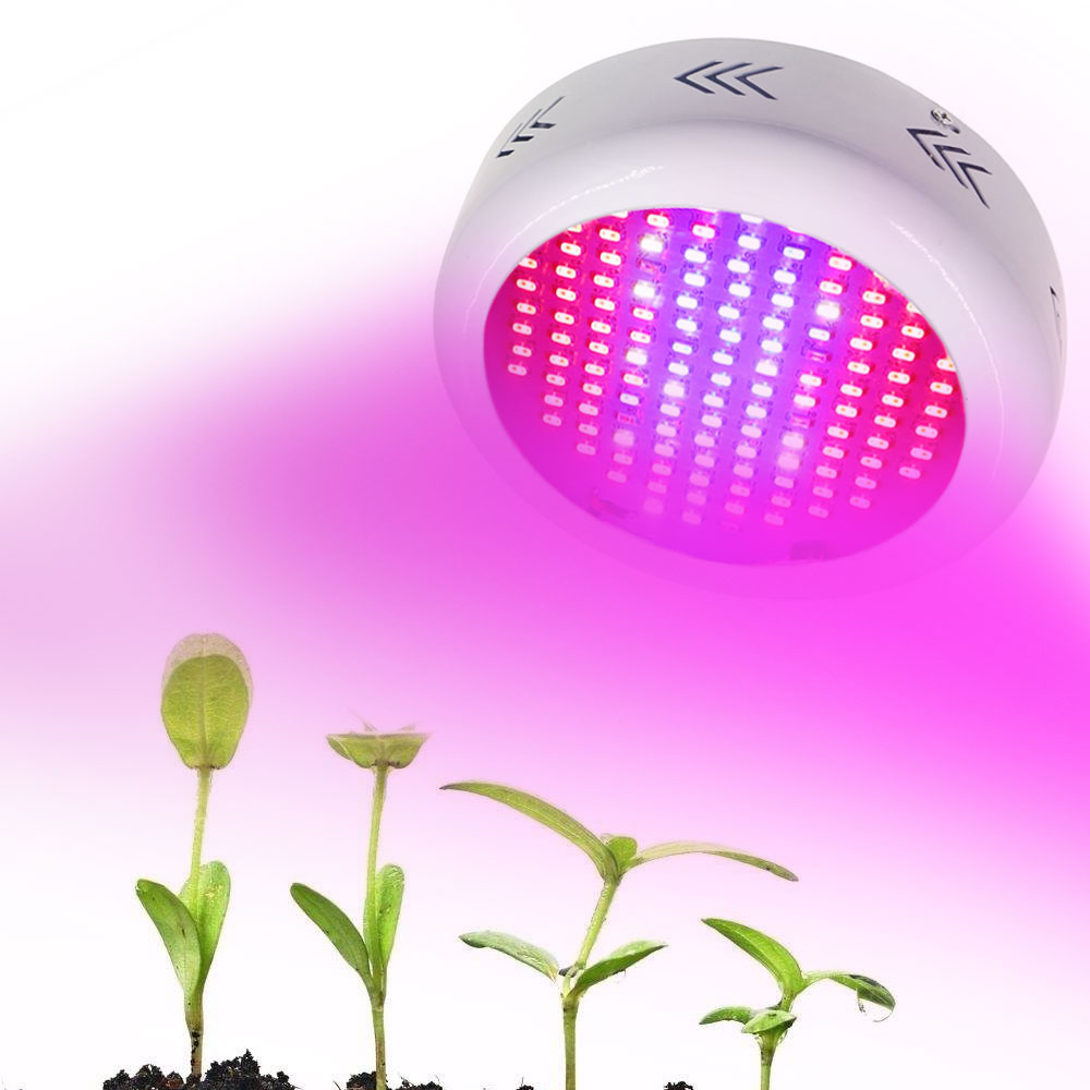 UFO 130W Led grow light Full Spectrum 132 Leds Growing lamp AC85-265V plant lamp for indoor plants flower fruits growing light 600w led grow light full spectrum leds plant lighting lamp for plants seedings flowers growing greenhouses 100 6w double chips