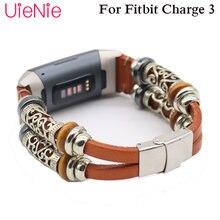 Ремешок уникальной формы для fitbit charge 3 frontier/классический