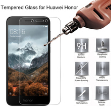 Toughed Protector Glass for Huawei Honor 6A Tempered 4A 5A 4C 5C 6C Pro Screen on 3X 4X 5X 6X 7X 8X
