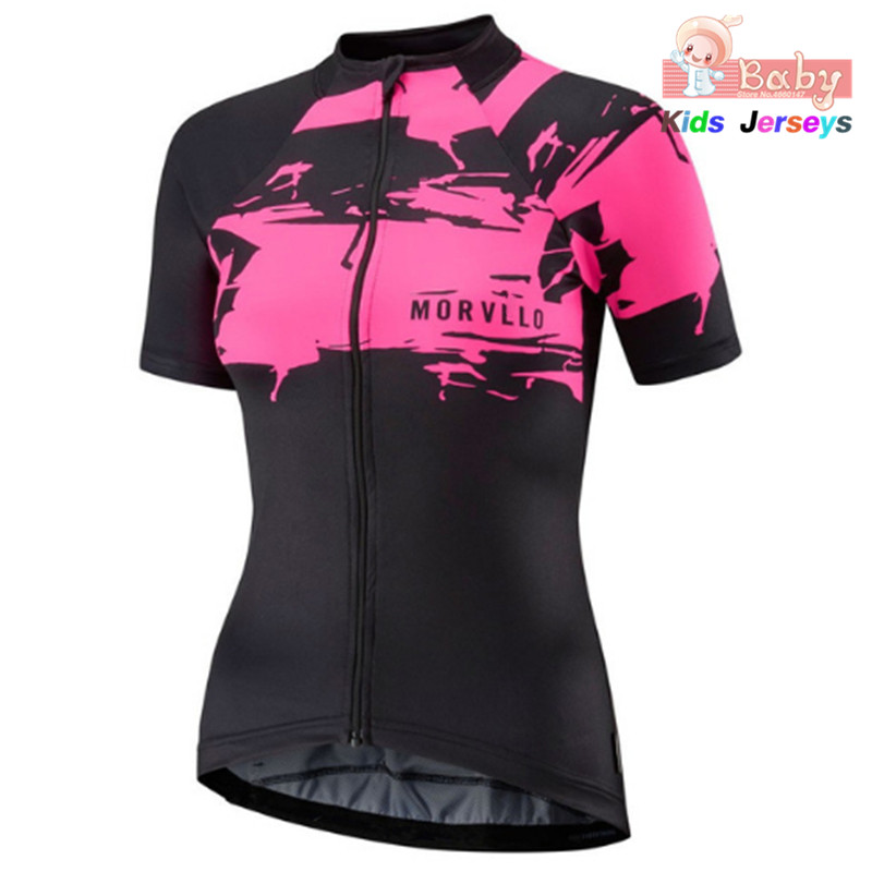Cycling Jersey Aero Shirts Bike-Uniform Short-Sleeve Race-Cut MTB Girls Tops Quick-Dry