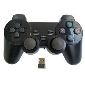 Image 1 - Manette professionnelle du contrôleur 2.4Ghz de jeu de PC de gampead dordinateur avec le mode PC360 double vibration pour Win7 Win8 Win10