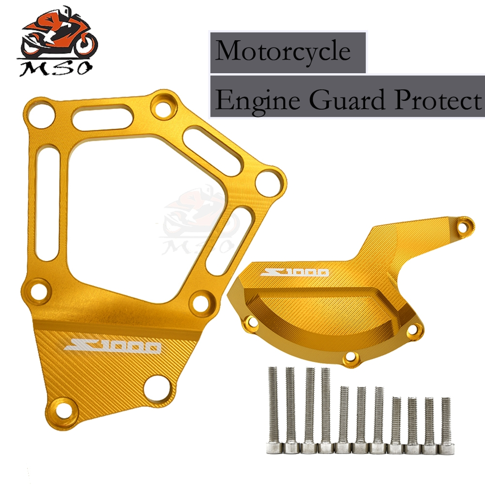 Motorcycle Engine Guard Starot Cover Case For BMW S1000RR 2017 2016 Frame Slider Protector Accessories CNC