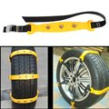 10pcs/set Car Snow Chains Universal Adjustable Auto Emergency Thickening Anti-skid Security Snow Tire for Ice Road