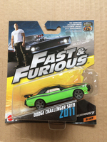 New Arrival Hot Wheels 1 55 Fast And Furious Dodge Challenger Srt Diecast Car Models Collection