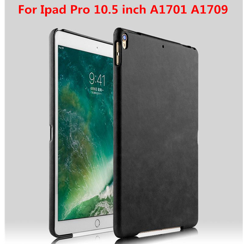 Protective PU Leather+Hard Plasic PC Shell Back Cover Tablet PC Covers Case For Apple New iPad pro 10.5 inch A1701 A1709