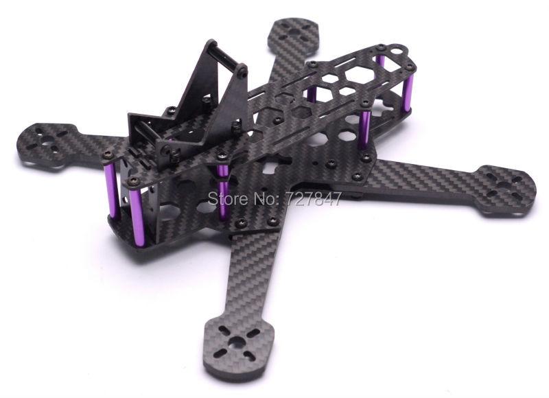 X220 220mm Carbon Fiber kit 4.0mm Arm with 30 Degree Camera Tilt Base for MMX 220mm 220 Better than QAV R 220 QAV250
