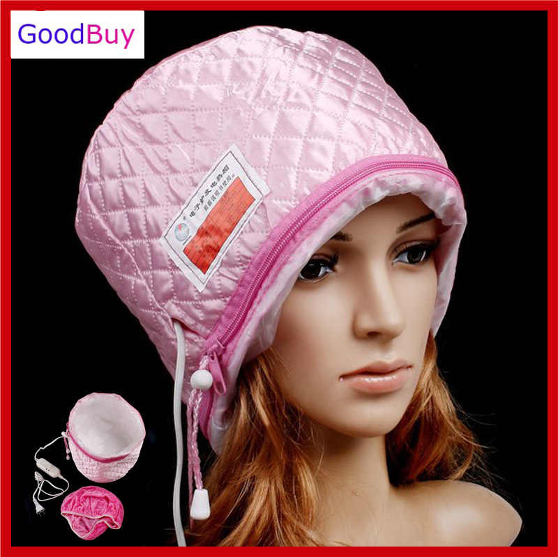Free Shipping New Hair Thermal Treatment Beauty Steamer SPA Cap Hair Care Nourishing Hat heating cap tool