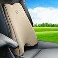 4 Cores de algodão memória almofada lombar para cadeira aliviar a fadiga almofadas de assento de carro de volta o apoio para a Volkswagen para kia para toyota