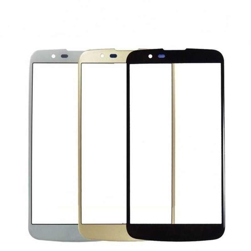 لمس الشاشة ل LG K10 K420N K430DS المزدوج 5.3 ''شاشة الكريستال السائل لمس لوحة الجبهة الزجاج الاستشعار محول الأرقام الهاتف الغيار أجزاء