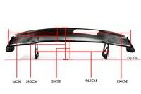 Углерода Волокно задний спойлер автомобиля Средства для укладки волос подходит для Honda S2000 ложка Средства ухода за кожей комплект