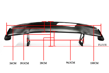 Carbon Fiber Rear Spoiler Car-Styling Phụ Kiện Phù Hợp Cho Honda S2000 Muỗng Body Kit