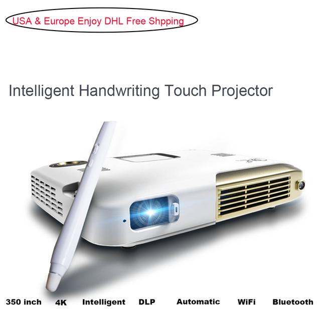 G20 Mini Proyector 4 K 4096*2160 de Resolución de Vídeo Proyector de Cine En Casa Oficina de Negocios Portátil Proyectores Led Full HD 1080 p