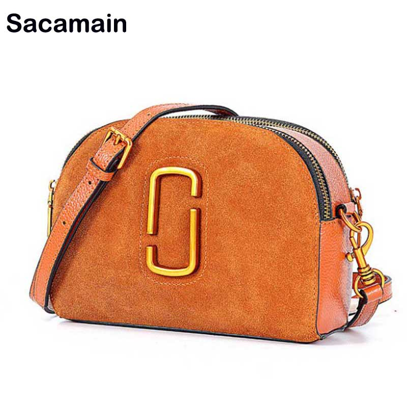 Luxury Brand Designer Messenger Bag Women Suede Leather Shoulder Bag Bolsos 2018 Sacoche Homme With Two Strap Gorjuss Girls gorjuss 4 40
