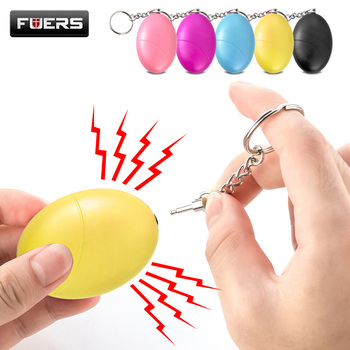 Fuers 1pcs 120DB Keychain Alarm Self Defense Women Security Personal Safety Scream Loud Self Defense Keychain Alarm Self Defence 1